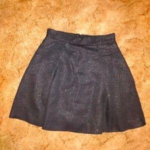 NWT Lily Rain black glitz skirt